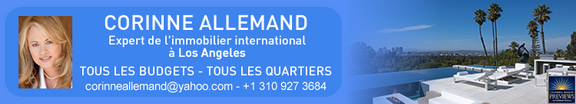 Corinne Allemand <br> Expert de l'Immobilier International à Los Angeles