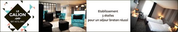 Le Galion Brit Hôtel 3***