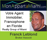Mon appart à Miami - Franck Leblond, Broker Associé