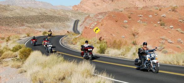 La Route 66 à moto