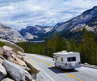 Les parcs californiens en RV