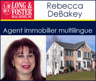 Rebecca DeBakey - Long & Foster Real Estate - Direct : 301 452 4454