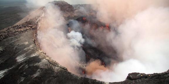 Les volcans d'Hawaii