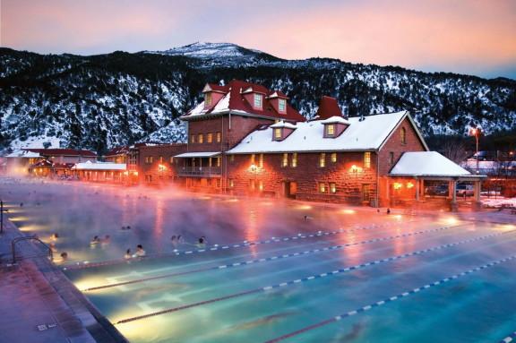 Hot Springs Pool / Crédits : facebook.com/GlenwoodHotSprings