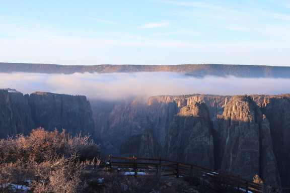Black Canyon of the Gunnison National Park / Crédits : facebook.com/blackcanyonnps