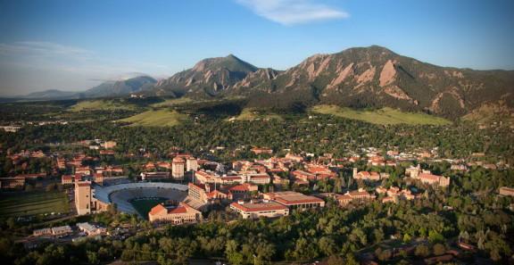 La ville de Boulder / Crédits : Colorado.edu