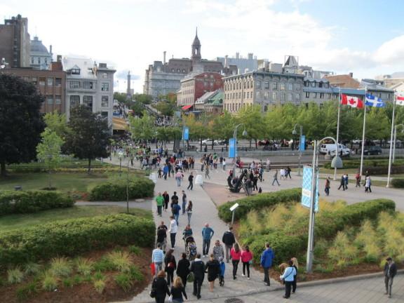 Le vieux Montréal, crédits :  wikipedia.org