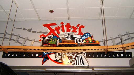 Fritz's Railroad Restaurant, crédit photo : Facebook.com/Fritzs-Railroad-Restaurant-114449205283725/