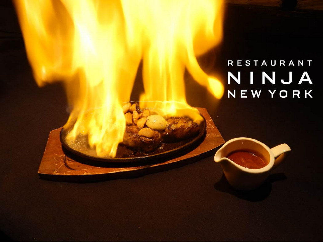 Ninja, crédit photo : facebook.com/Ninja-New-York-217403354941609/