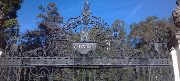 La Greystone Mansion à Los Angeles