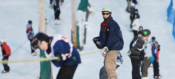 Skier autour de Chicago